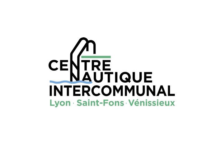 Le nouveau logo du Centre Nautique de Lyon, Saint-Fons et Vénissieux