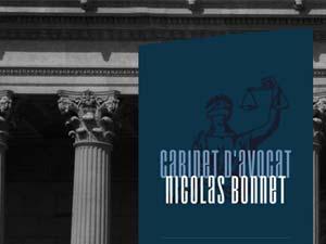 Site du cabinet d'avocat Nicolas Bonnet